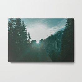 Wilderness Yosemite Circa 1982 Metal Print