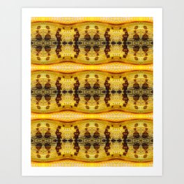 Yellow Locust Art Print