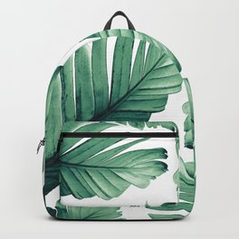 Tropical Banana Leaves Dream #3 #foliage #decor #art #society6 Backpack