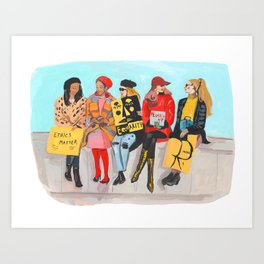 International Women's Day Art Print