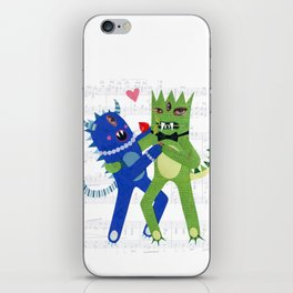 monster tango. iPhone Skin