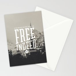 Free Indeed - Photo Stationery Cards