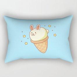 Bunny-lla Ice Cream Rectangular Pillow