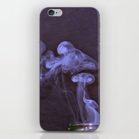 Purple Puff iPhone & iPod Skin