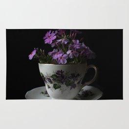 Botanical Tea Cup Rug