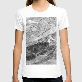 Carrara Grey Marble T-shirt