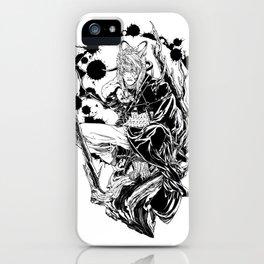 Cursed white iPhone Case