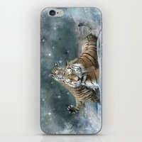 tigers iPhone & iPod Skins featuring Tigers by Julie Hoddinott