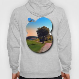 A tree, a road and summertime Hoody