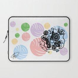 Rainbow Yarn Logo (Light Bg) Laptop Sleeve