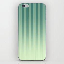 Gradient Stripes Pattern gl iPhone Skin