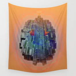Buble Lab Robotics Space Wall Tapestry