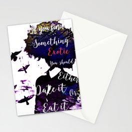 Something Exotic Stationery Cards