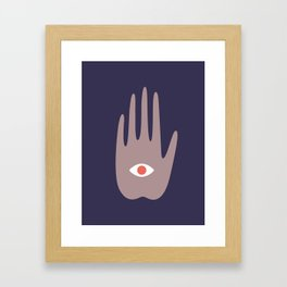 hamsa IV Framed Art Print