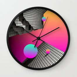 TILT & SHIFT Wall Clock