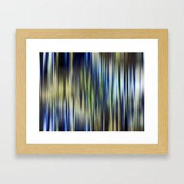 Kinglake fire regrowth Framed Art Print