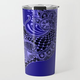 Royal Peacock Travel Mug