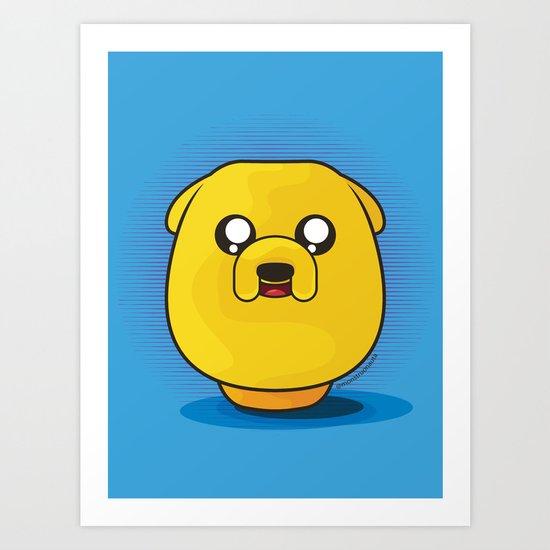 Daruma: Jake the Dog Art Print
