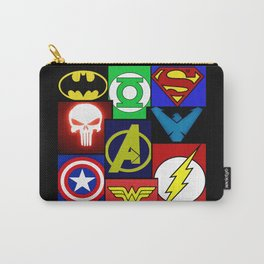 Logo Panel Carry-All Pouch