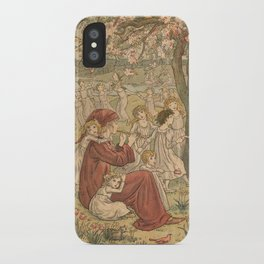 The Pied Piper of Hamelin - Robert Browning iPhone Case