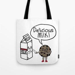 Delicious Milk Tote Bag