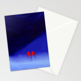 Engaged With Oblivious Stationery Cards