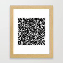 Blotch Framed Art Print