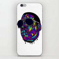rap iPhone & iPod Skins featuring Rap Gangster by emalakaite