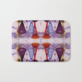 Wine Glass Photographic Pattern #2 Bath Mat