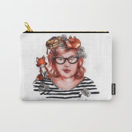 Foxy Girl Carry-All Pouch