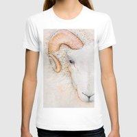 sheep T-shirts featuring sheep by Bárbara  Kramer