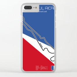 Le Castellet Clear iPhone Case