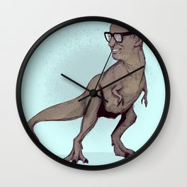 Tyrannosaurus Jeff Wall Clock