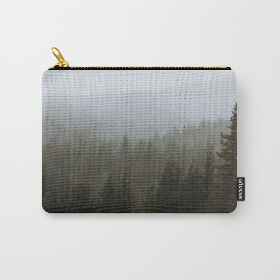 Snowy Forks Forest Carry-All Pouch