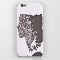 blush iPhone & iPod Skins featuring Blush by Jane Lacey Smith