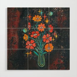 Poppies Wood Wall Art