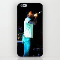 childish gambino iPhone & iPod Skins featuring Childish Gambino by Ashley Overton