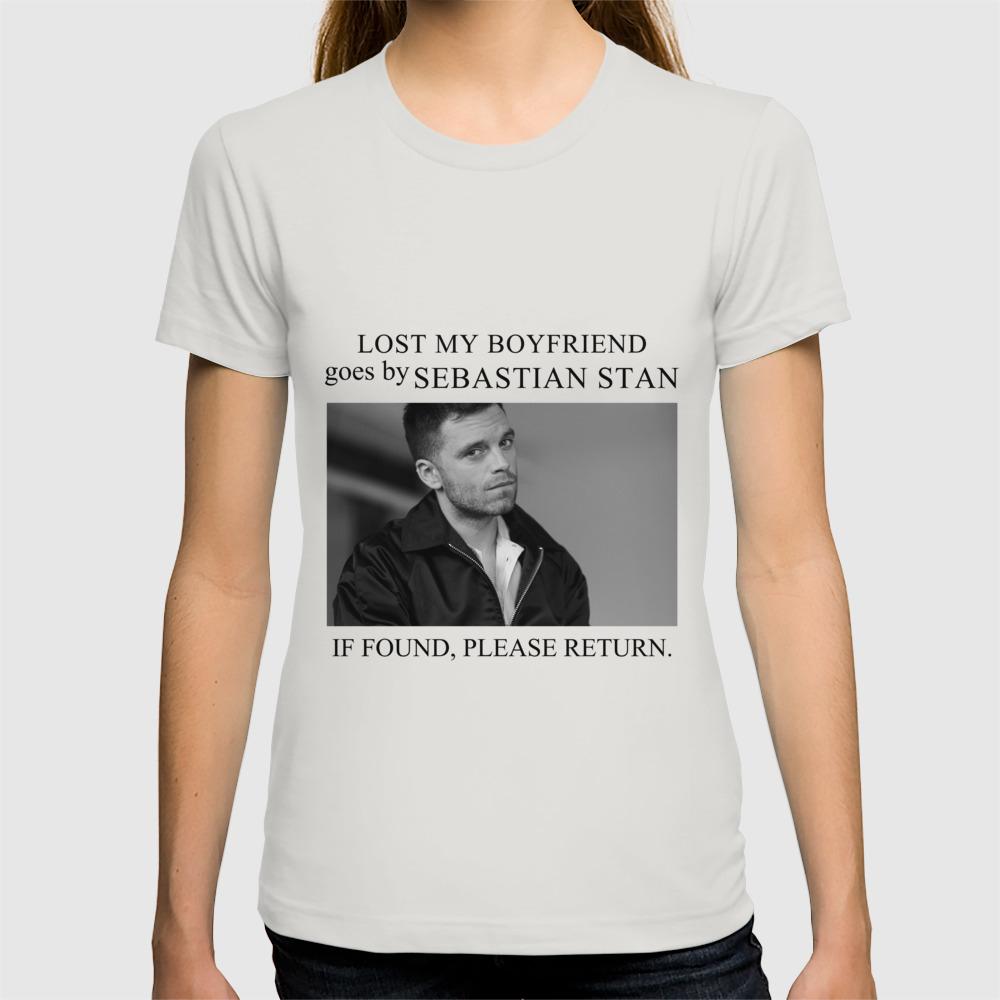 Lost my boyfriend Sebastian Stan T-shirt