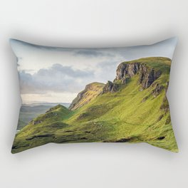 Dawn on the Mountain Rectangular Pillow