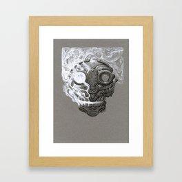 Escaping Soul Framed Art Print