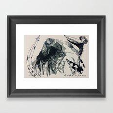 Terrordactly Framed Art Print