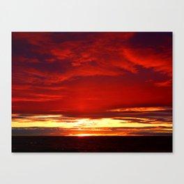 Devil sky Above Canvas Print
