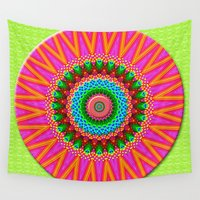 cookie Wall Tapestries featuring Frosted Sugar Cookie by Peter Gross