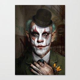 Clownavich Canvas Print