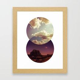 Desert to Sky Framed Art Print