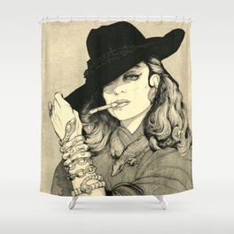 MARIA FELIX Shower Curtain