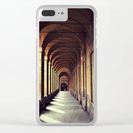 Portico di San Luca Clear iPhone Case