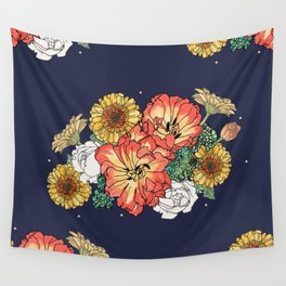 flower bouquet Wall Tapestry