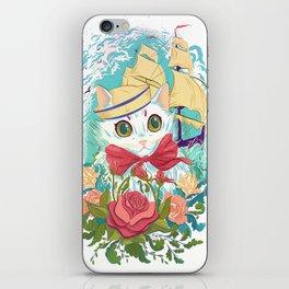 Sailor Kitty iPhone Skin