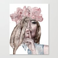 lolita Canvas Prints featuring Lolita by Lebats